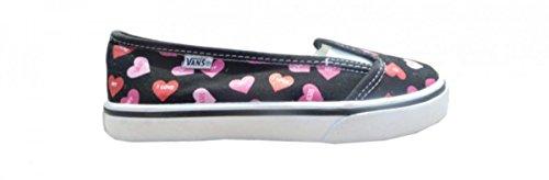 Vans Skateboard Schuhe KVD Black/Fandango Pink Candy Hearts, Schuhgrösse:32