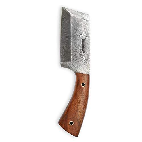 Handgemachtes Damast Jagdmesser - Spaltermesser