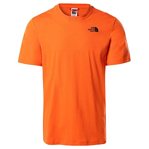 The North Face Camiseta para Hombre Redbox tee Flame S