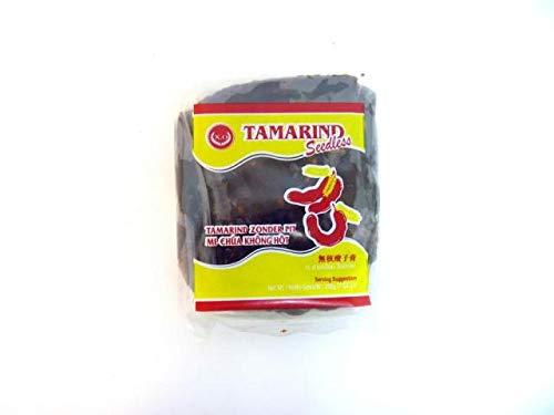 Parwaz - Pasta de Tamarindo Sin Semillas - Ideal para Preparar Pad Thai - Producto de Thailandia - 400 Gramos