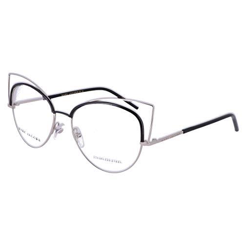 MARC JACOBS Eyeglasses MARC 12 0UUV Palladium / Black 53MM