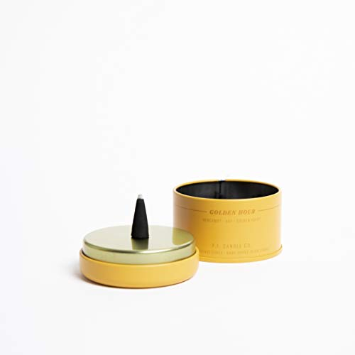 P.F. Candle Co. - Sunset Incense (Golden Hour) | Tin of 30 Incense Cones