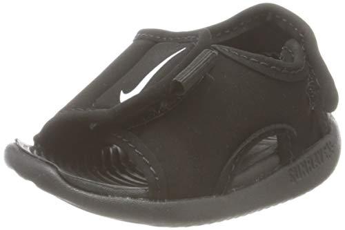 Nike Sunray Adjust 5 V2 (TD), Sandal Baby-Boys, Black/White, 25 EU