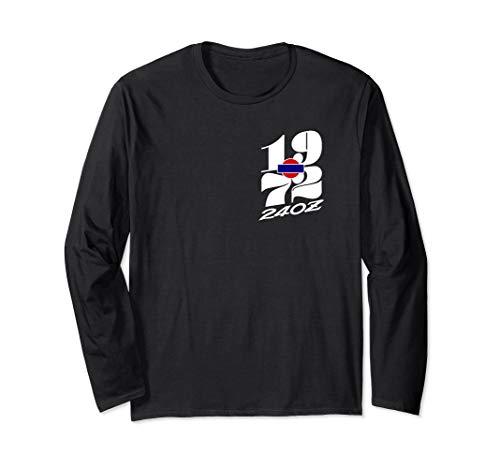 240Z - 1972 for Datsun's vintage JDM racer. 2 side print Long Sleeve T-Shirt
