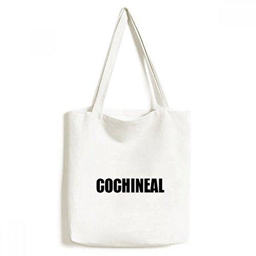 DIYthinker Cochenille Farbe Schwarz Bezeichnung Umwelt-Tasche Einkaufstasche Kunst Waschbar 33cm x 40 cm (13 Zoll x 16 Zoll) Mehrfarbig