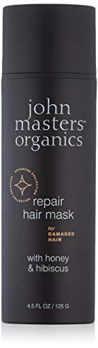 JOHN MASTERS ORGANICS Masque Pour Cheveux Abîmés Au Miel Et À L'Hibiscus 125 g