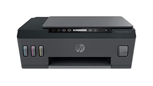 HP Smart Tank Plus 555 - Impresora multifunción inalámbrica (WiFi, configuración rápida y Sencilla, tintas duraderas) Negro