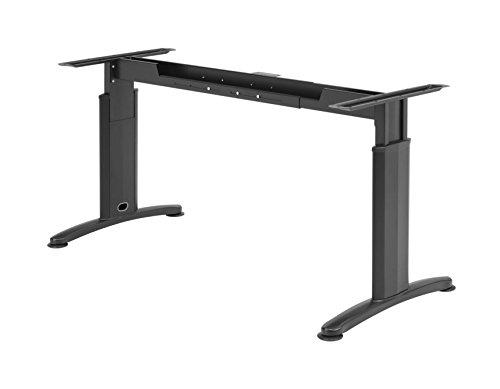 PROFI Schreibtisch Untergestell - Verstellbar - Schwarz