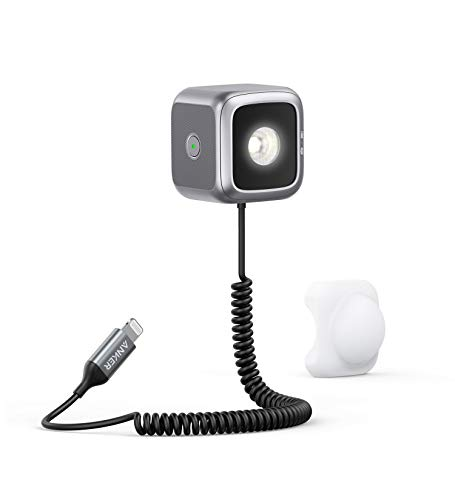 Anker iPhone LED Flash (iPhone専用 LEDフラッシュライト) 【Apple MFi認証取得】iPhone 12 / 12 Pro / 11 / 11 Pro / 11 Pro Max/SE (第2世代) 対応