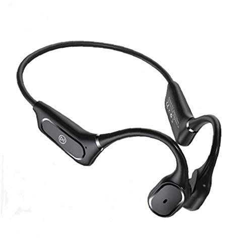 shentaotao Auriculares de conducción ósea H11 para Running Ciclismo Negro inalámbrico Bluetooth 5.0 Abrir el oído del Deporte al Aire Auriculares