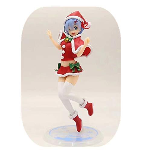 From HandMade Re: Het leven in een andere wereld van nul figuur Rem kerst kostuum figuur Anime Girl Figuur Action Figure