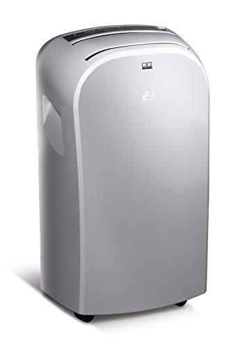 REMKO MKT 295 Eco - Climatizzatore locale compatto, classe di efficienza energetica: A, Argento 1.00W