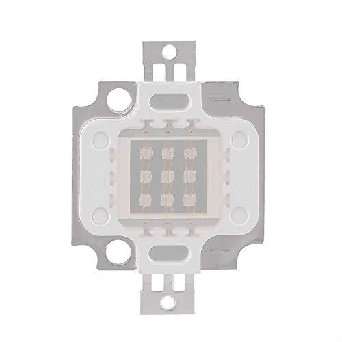 QITERSTAR Viruta de luz UV, 395-400Nm Purple LED Chips Integrados COB Ultraviolet Lamp Beads(10W)