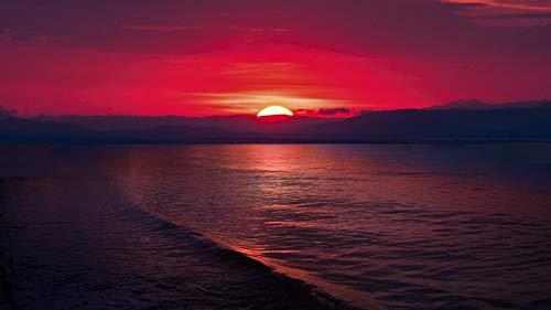 nonbranded Regalo de Rompecabezas de 1000 Piezas Sunset