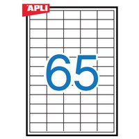 【APLI】 マルチA4ラベル 65面 (AP-01209) [オフィス用品]