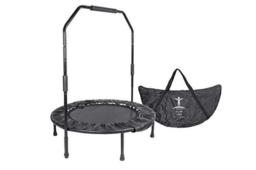 David Hall's Cellerciser Rebounder WITH Balance BAR Trampoline Kit