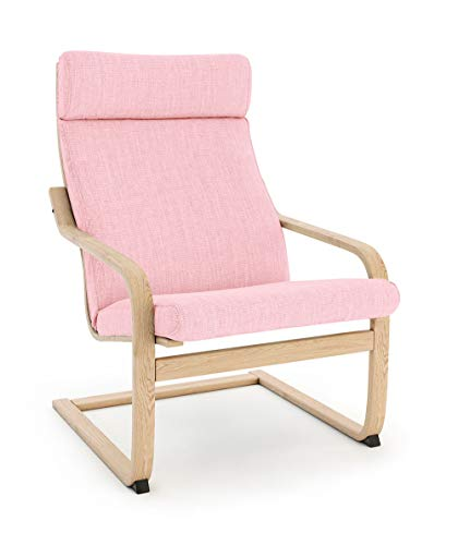 Masters of Covers Ikea Poäng Armchair Replacement Cover (Cushion Design 1, Polyester - Pink)