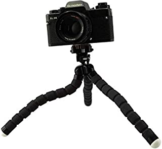 Tripod Pulley,Foldable Tripod Qinlorgo for Kingjoy VX-600 Foldable Tripod Dolly 3 Wheels Stand Pulley Base Universal Camera