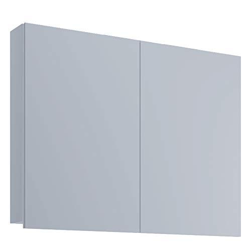 VCM Spiegelschrank Badspiegel Spiegel Badezimmer Hängespiegel VCB 1-60 cm ohne LED-Beleuchtung, Weiß