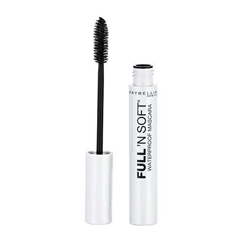 Maybelline Full 'N Soft Waterproof Mascara, Very Black [311], 0.28 oz (Pack of 6)