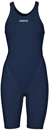 Arena;Costume da nuoto e da competizione da donna Powerskin St 2.0;schiena scoperta, Donna, blu navy, 36 IT