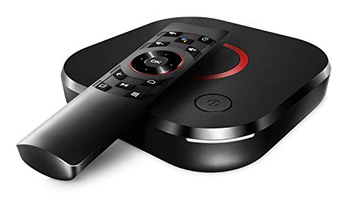Infomir MAG 425A Android TV 8.0 4K 60FPS HEVC 2.4/5GHz WiFi, 2GB RAM, 8GB Flash, Bluetooth 4.1, Sprachfernbedienung, HDR10, HDMI 2.0a, Micro SD Slot, Ministra TV, Chromecast IPTV OTT Player