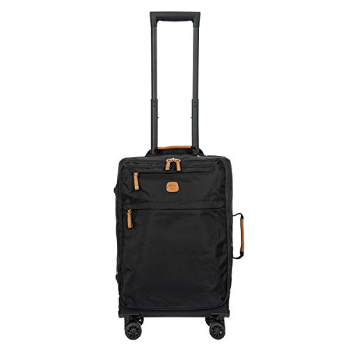 Bric's USA Luggage Model: X-BAG/X-TRAVEL |Size: 21' spinner w/frame | Color: BLACK