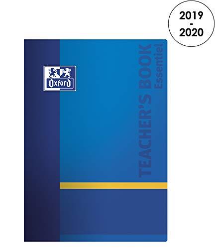 Oxford - Agenda per insegnante 2019-2020 da agosto a agosto, 1 mese per pagina, formato 21 x 29, 7 blu