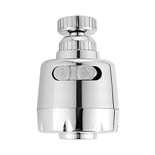 QQRH Aireador de Grifo de Cocina Giratorio de 360 Grados, difusor de Filtro de rociador de Modo Dual Ajustable, Conector de Grifo de Boquilla de Ahorro de Agua
