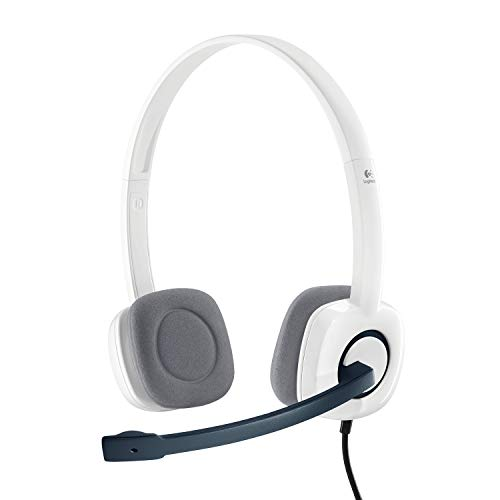Logitech H150 Stereo Headset (Cloud White)