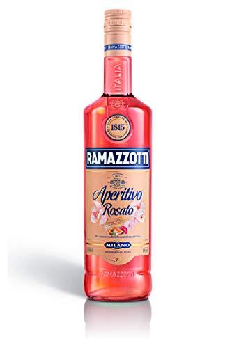 Ramazzotti Aperitivo Rosato – Der italienische Aperitif mit fruchtig-frischer Note – Ideal für Longdrinks oder Cocktails – 1x 1L