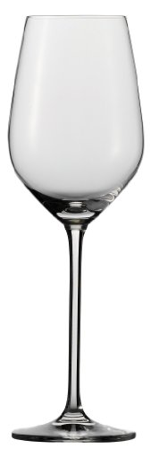 Schott Zwiesel Tritan Crystal Glass Fortissimo Stemware Collection White Wine Glass, 13.7-Ounce, Set of 6