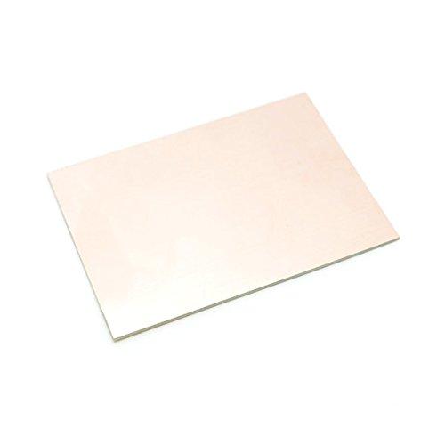 Bungard Basismaterial ohne Fotobeschichtung Einseitig - 100x160mm - 35 µm Cu - Stärke 1,5 mm – 5 Stück