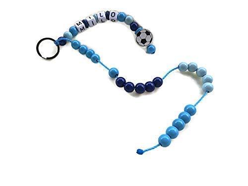 Rechenkette für Jungen Motiv Fussball