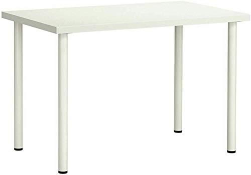 AAD Ikea LINNMON/ADILS - Mesa, color blanco brillante - 100x60 cm/Estudio/Oficina/Estación de Trabajo