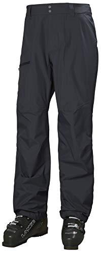 Helly-Hansen Mens Verglas 3L Waterproof Shell Pant, 983 Slate, Medium