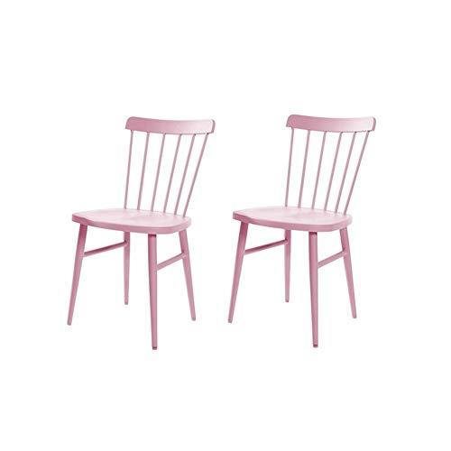 WSHFHDLC Mesa de Centro Nordic Silla Windsor Restaurante Americano Moderno Personalidad del Artista Minimalista con Malla for sillas Rojas pequeña Mesa de café Tablas de café pequeñas