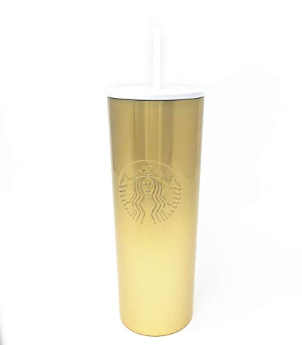 Starbucks 2019 Holiday Season Glitzer Gradient Gold Cold Cup (61 ml)