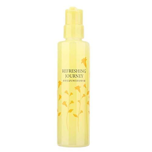Démaquillant au chèvrefeuille, hydratant doux démaquillant liquide nettoyant-rafraîchissant pour le visage - pour tous les types de peau 200 ml