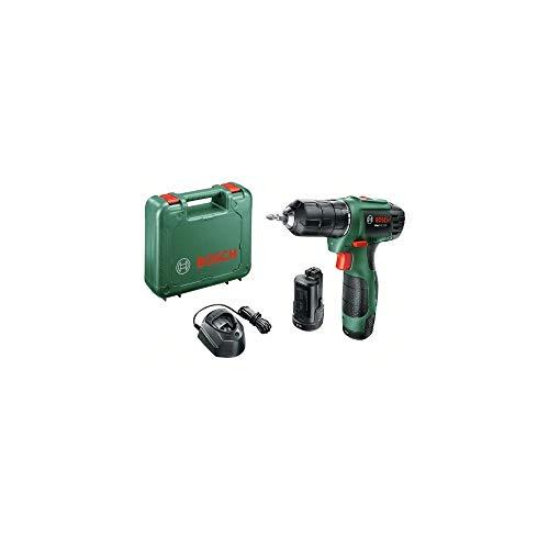 Bosch Home and Garden Bosch Easydrill 1200 Boormachine eenvoudig elektrische draadloos, 12 V/1,5 A/06039A210B, 12 V, zwart, groen