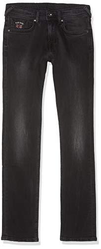 Pepe Jeans Jungen Emerson Jeans, Schwarz (10o Blk Used Denim 000), 14 Jahre (Herstellergröße: 14y/S/164)