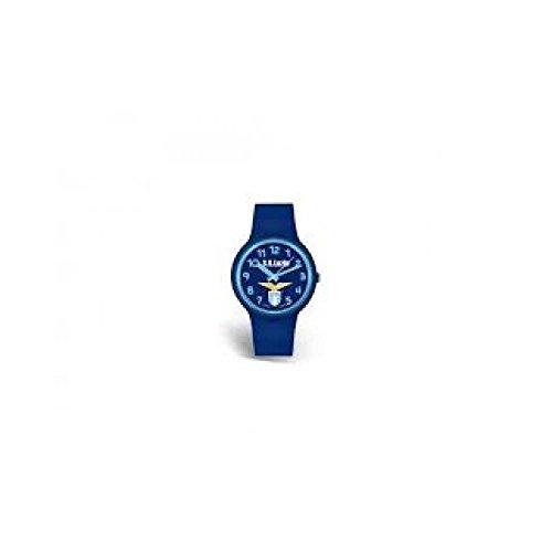 Orologio da polso blu - ufficiale Ss Lazio - 34mm - Cassa in silicone con fondello in acciaio (orologio con scatola)