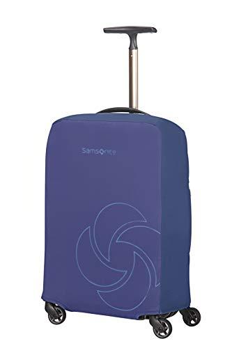 Samsonite Global Travel Accessories - Coperture Pieghevole per Valigia, S, Blu (Midnight Blue)