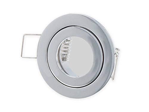 LED 249273 Mini Einbaustrahler Chrom MR11 IP20/44 GU5.3 rund