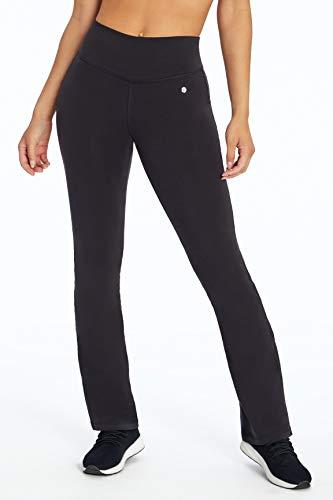 Bally Total Fitness Women's Standard Tummy Control Pant 32', Black, Medium