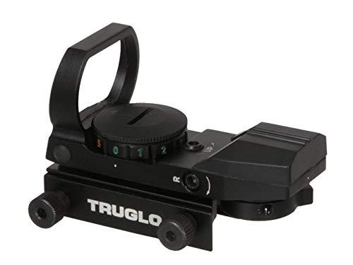 TRUGLO Open RedDot Sight DualColor Black