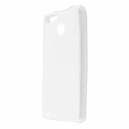 caseroxx TPU-Hülle für Cubot H3, Handy Hülle Tasche (TPU-Hülle in transparent)