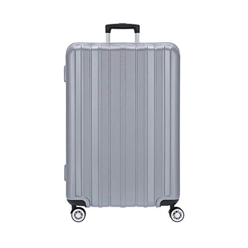 Stratic Pillar 4-Rollen Trolley 76 cm Silver