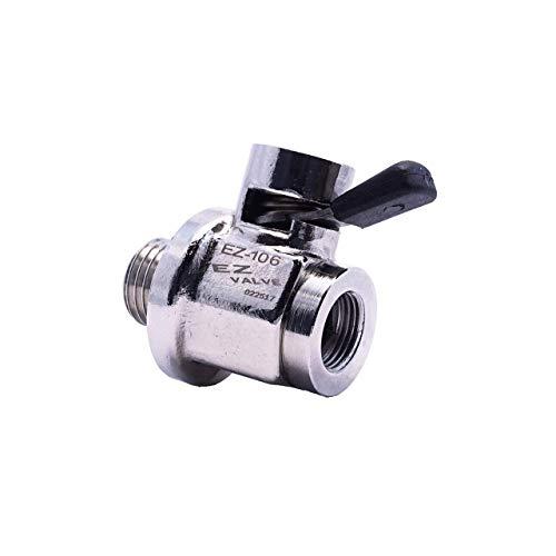 EZ (EZ-106) Silver 14mm-1.5 Thread Size...