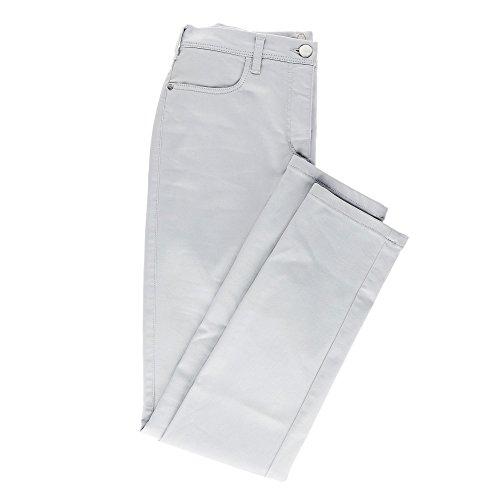 Relaxed by Toni 5-Pocket-Hose 5-Pocket-Hose »Meine Beste Freundin« in schlanker Passform 46 silberfarben